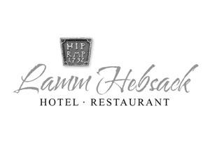 Logo: Lamm Hebsack - Hotel · Restaurant